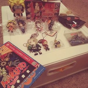 Naruto Collection Keychains